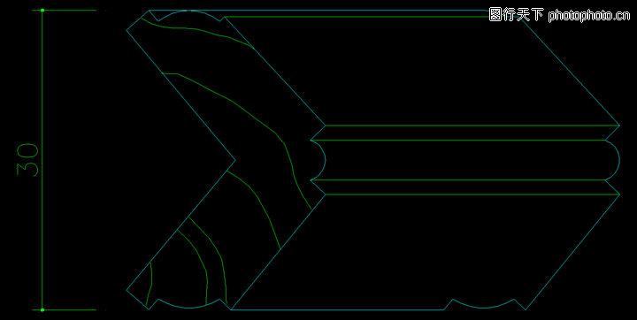 木线,饰线,木线0081