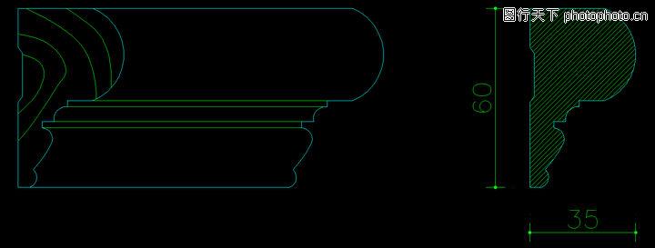 木线,饰线,木线0120