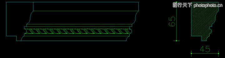 雕花木线,饰线,雕花木线0079