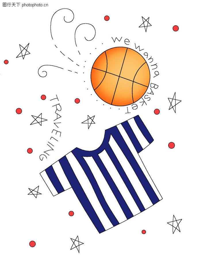 彩绘物件,花纹边框,t恤 篮球 背景,彩绘物件0058