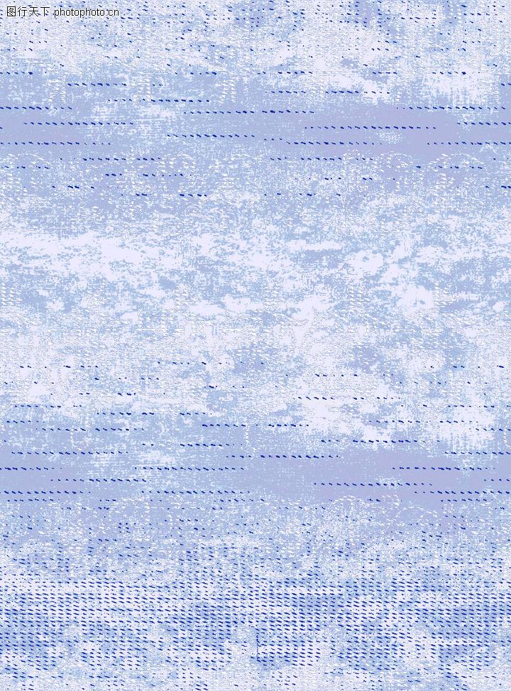 彩绘花纹,花纹边框,浅蓝色 横向花纹 淡色,彩绘花纹0024