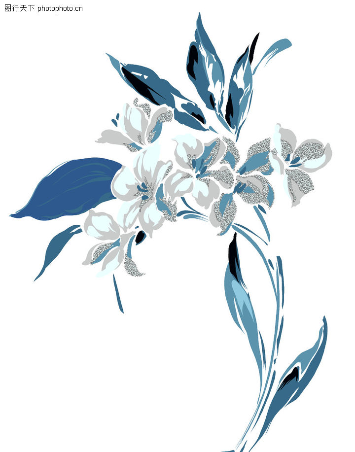 彩绘花纹 花纹边框