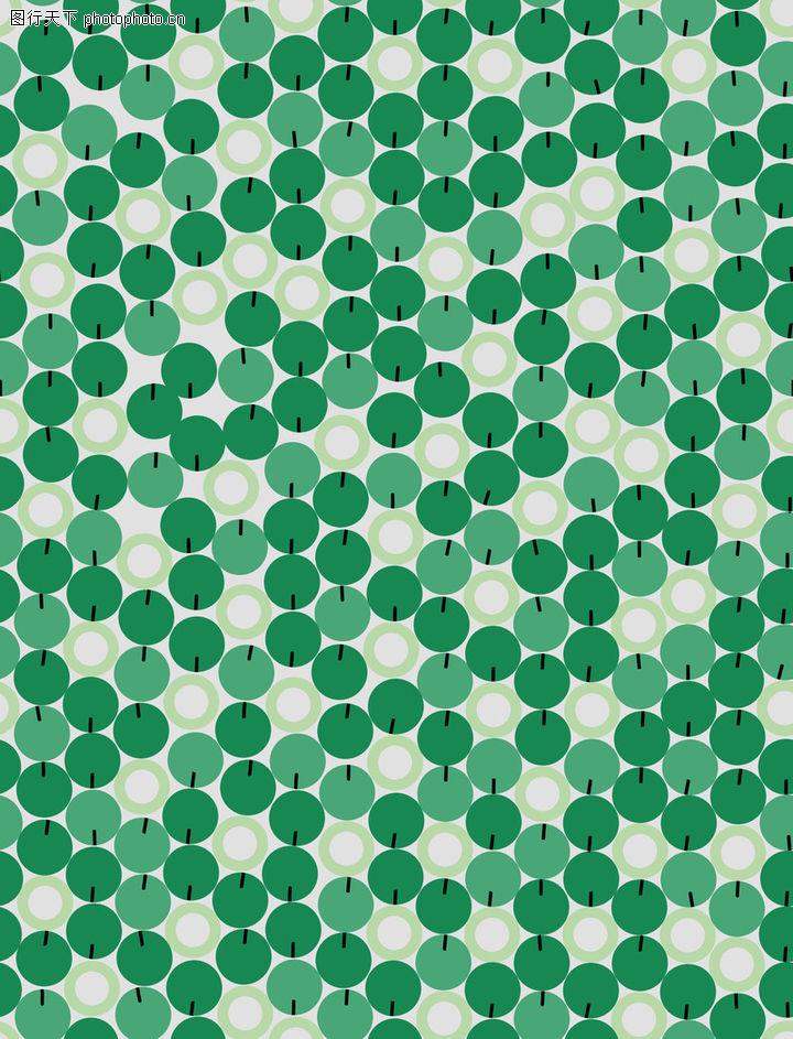 时尚纹理,花纹边框,绿色 深浅 圆斑,时尚纹理0059