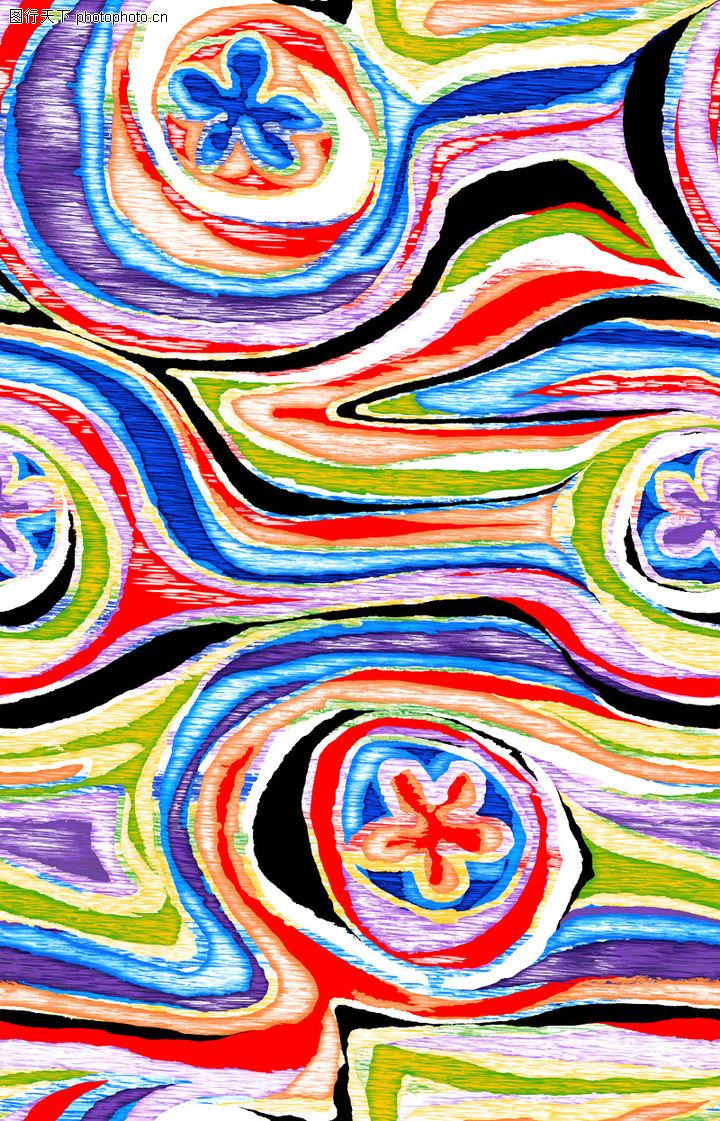 时尚纹理,花纹边框,油画 粗纹 刻画,时尚纹理0067