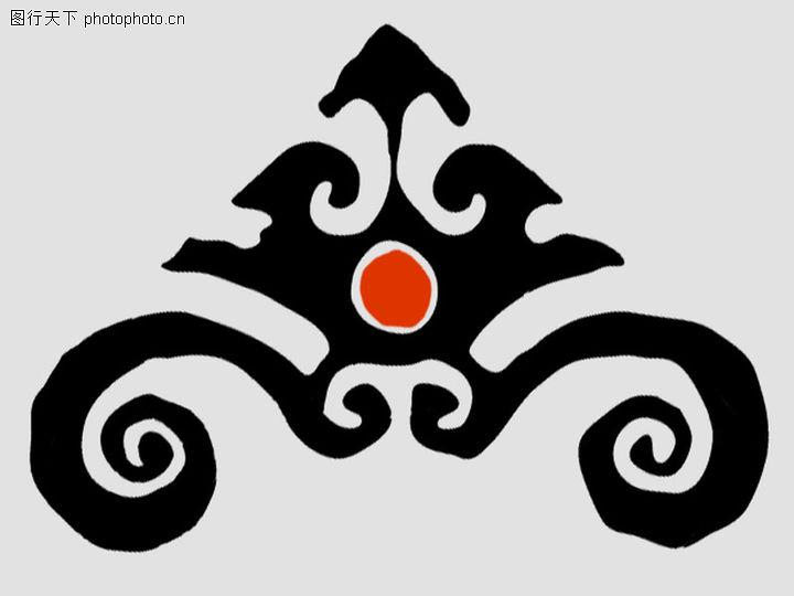 饰角素材,花纹边框,黑色