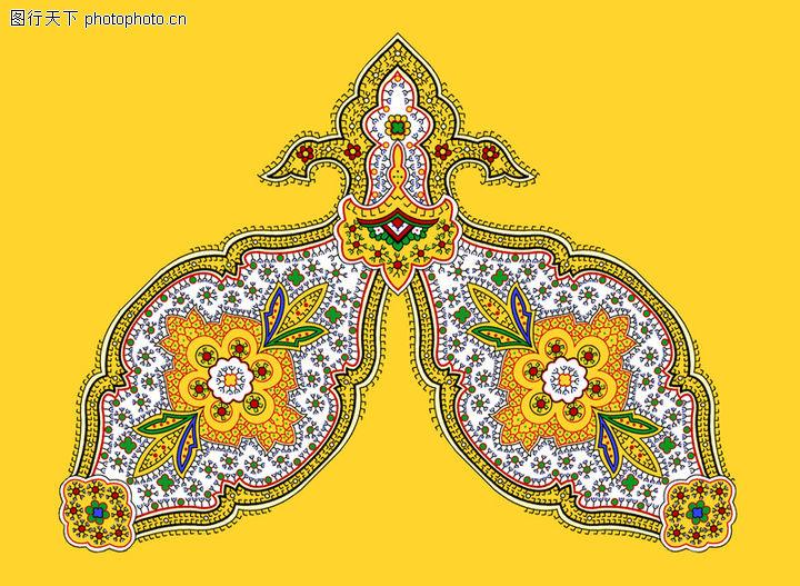 饰角素材,花纹边框,对称 内纹 装饰,饰角素材0158