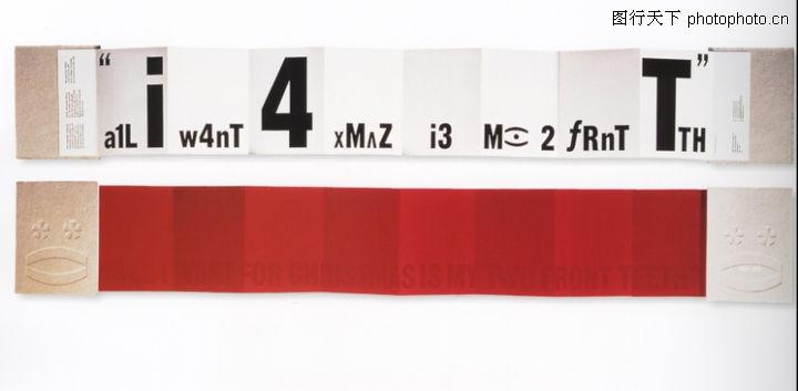 型录卷,纸品创意设计; 纸品创意设计,包装设计,红色 数字 折叠印迹