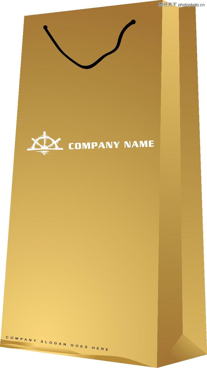 商务vi模板,vi素材模板,纸袋子,商务vi模板0087