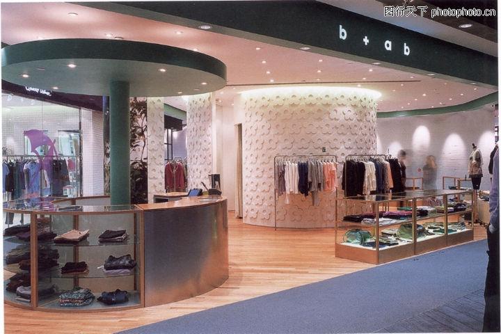 上海顶级商业空间,商业空间展示,开放式商店 展柜 过道,上海顶级商业图片