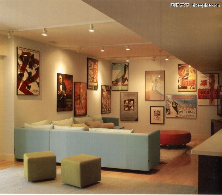 国际商业空间,商业空间展示,沙发 家居 壁画 气派,国际商业空间0026