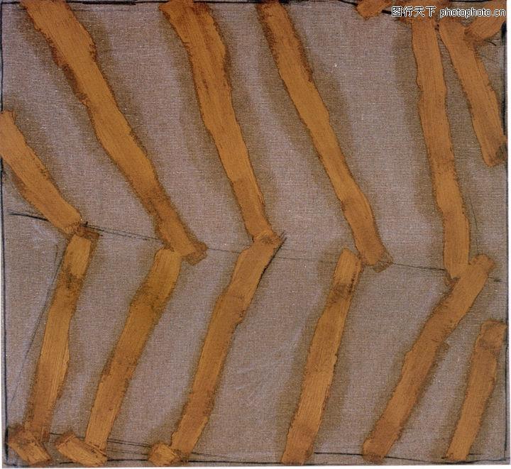 慕尼黑当代抽像画展,招贴画设计,折断 统一方向 黄色,慕尼黑当代抽像画展0086