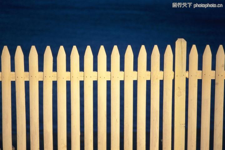 栅栏 尖锐 木条 高清图片