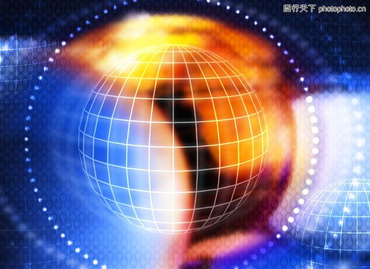 科技底纹,底纹,网状 球体 光环,科技底纹0003