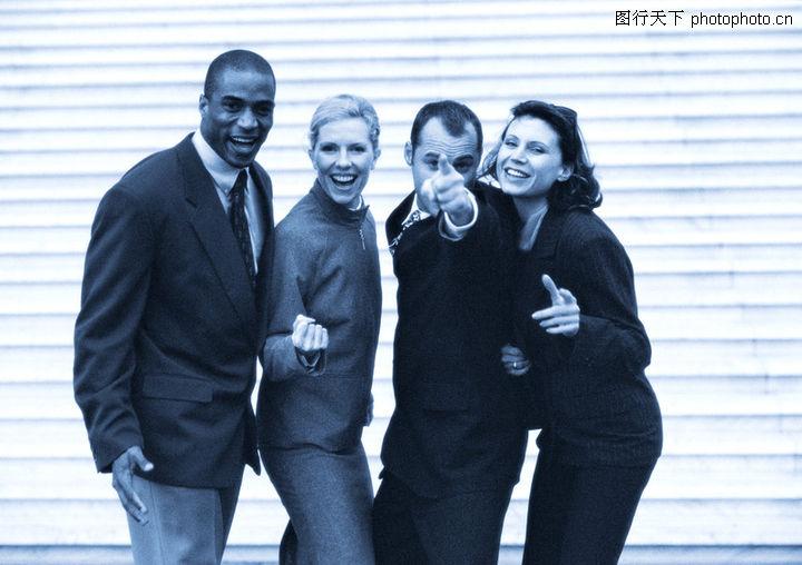 情景商业0073-高清商业图-团队商业表情-表情图库柯基犬搞笑图片图片