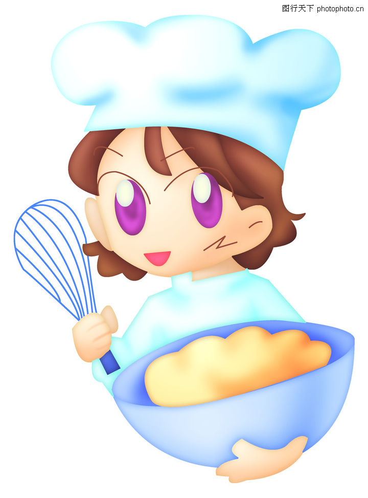儿童厨师帽卡通图片