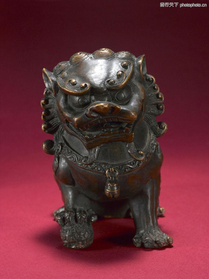 青铜器 民族文化 动物铜像