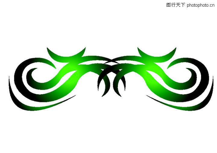 绿色边框素材logo