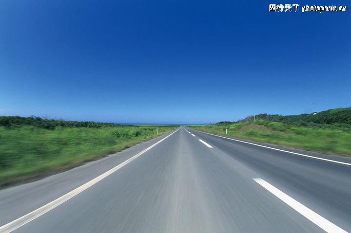 公路,运输,蓝天 路面 风景