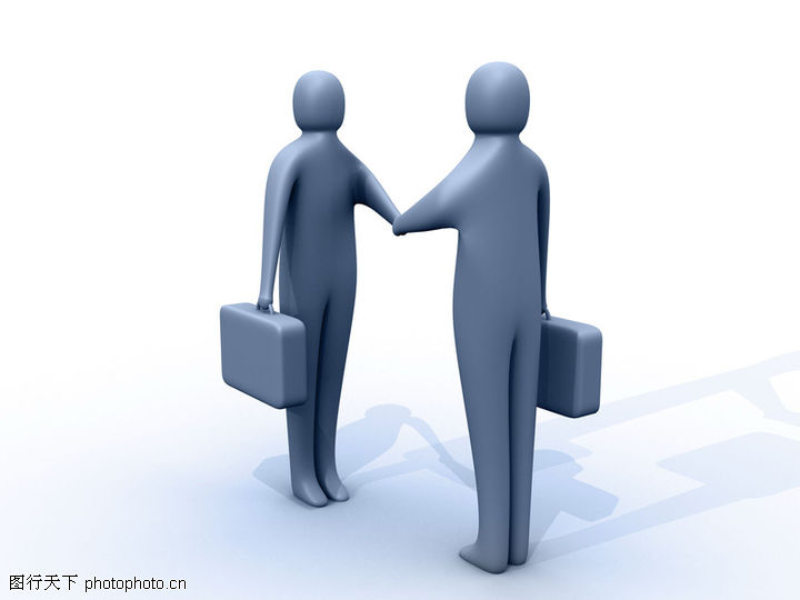 概念图片,握手