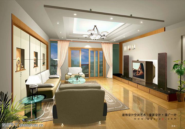 室内空间艺术,综合图片,灯光 窗帘 室内设计,室内空间艺术0105