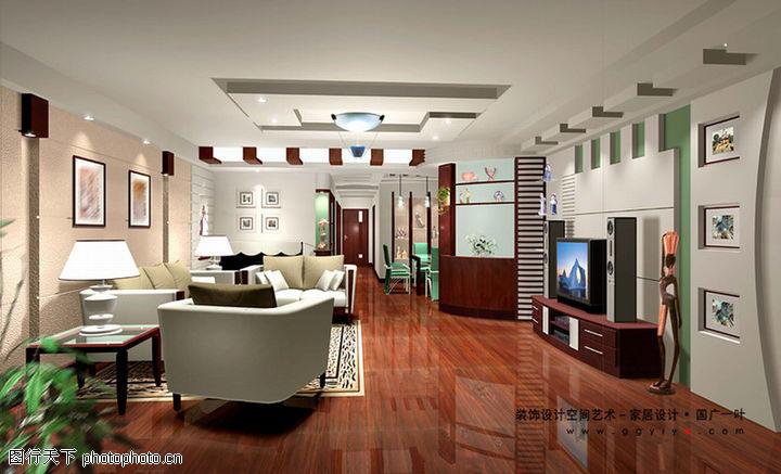室内空间艺术,综合图片,室内设计 电视机 沙发,室内空间艺术0189