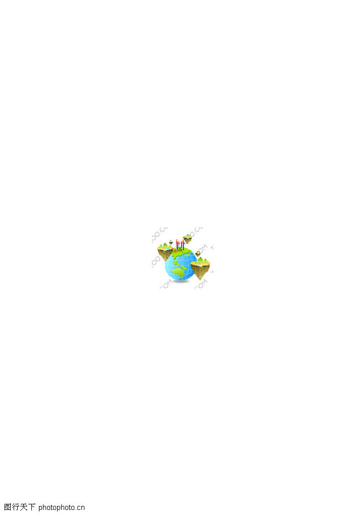 精致物件,静物系列,悬浮 空中 岛屿,精致物件0078