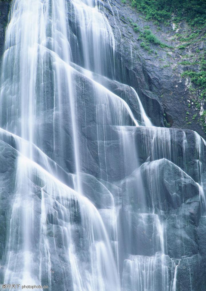高清瀑布山水风景图片内容|高清瀑布山水风景图片版面设计