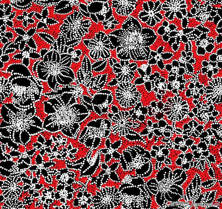 图形花纹背景,分层花纹,老色 花底 深沉,图形花纹背景0069