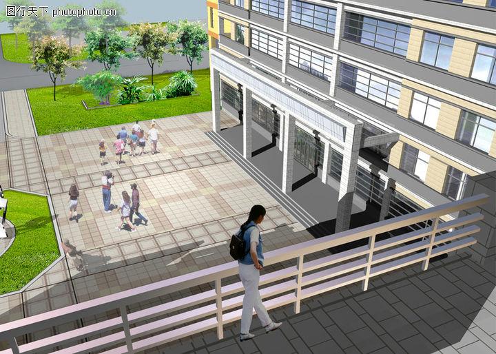 东南大学浦口校区实验楼,国内建筑设计案例,学生 阳台 楼层,东南大学浦口校区实验楼0004