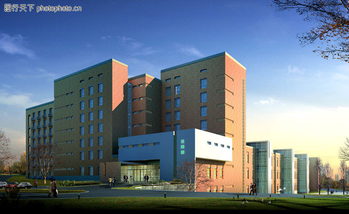 丹东第一人民医院,国内建筑设计案例,丹东第一人民医院0002