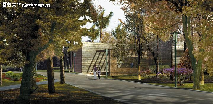 公園廣場景觀,國內建筑設計案例
