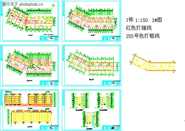工程设计资料施工图及模型图,国内建筑设计案例,工程设计资料施工图及模型图0194