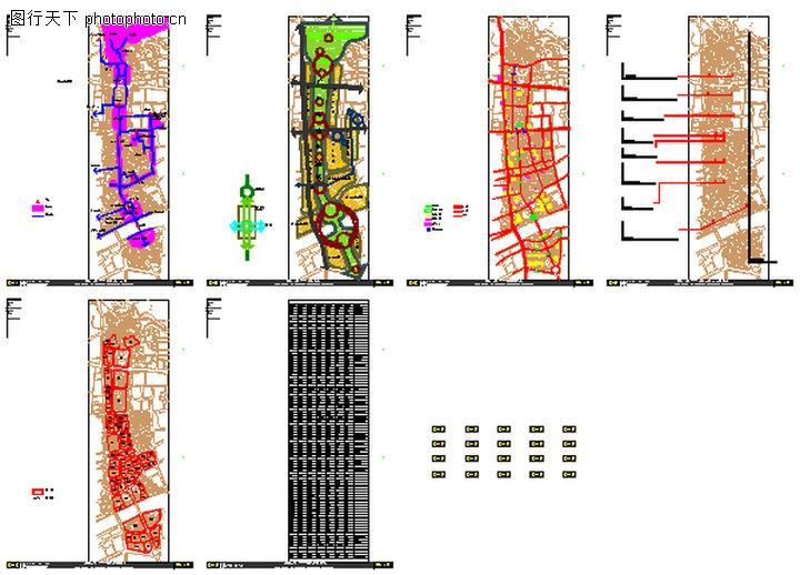 广州传统中轴线城市设计,国内建筑设计案例,广州传统中轴线城市设计0035