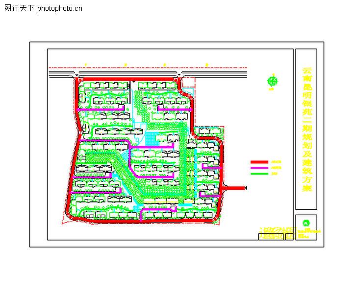 昆明银苑花园,国内建筑设计案例,昆明银苑花园0008