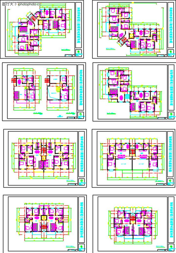 昆明银苑花园,国内建筑设计案例,昆明银苑花园0013
