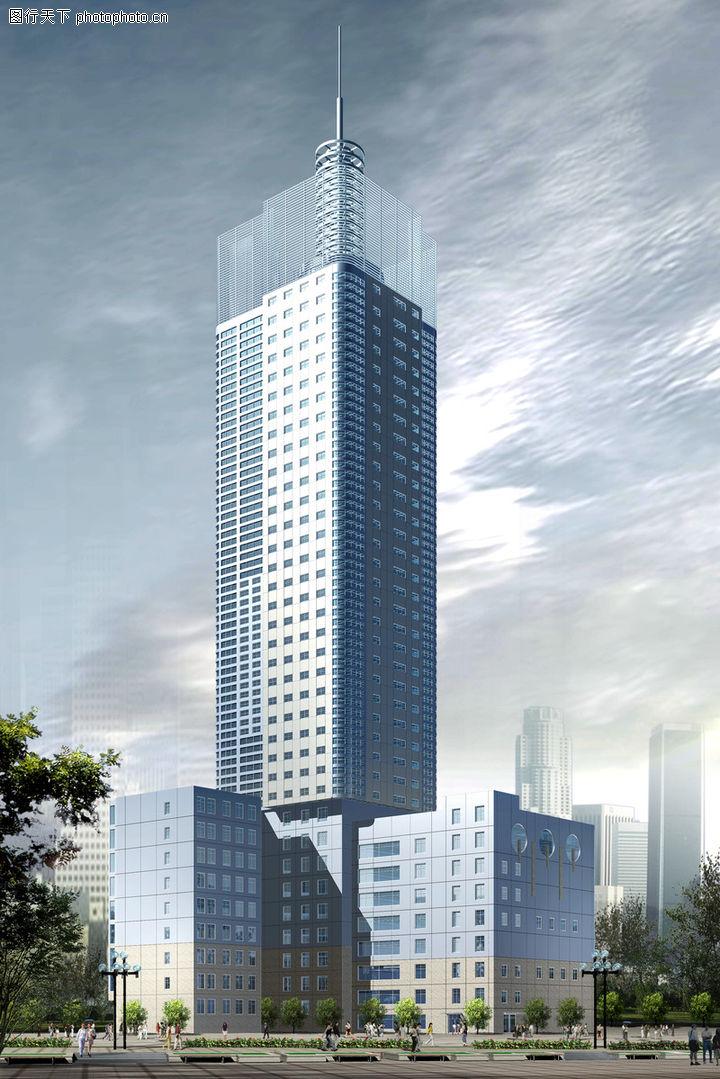 福建大厦,国内建筑设计案例,福建大厦0002