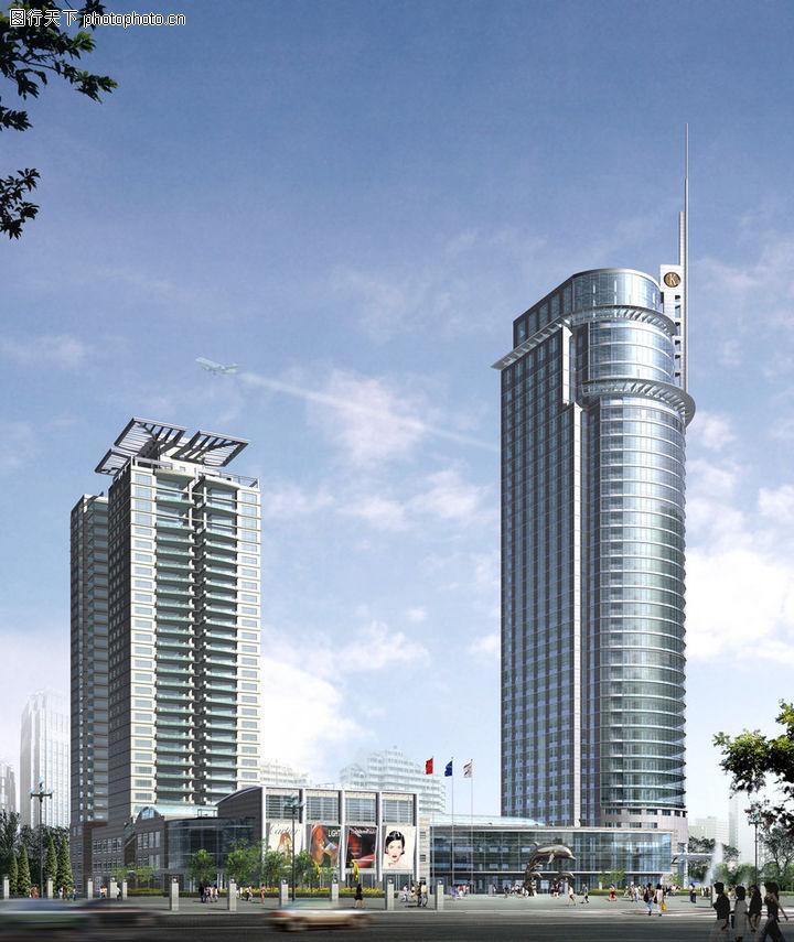 西安大厦,国内建筑设计案例,西安大厦0008