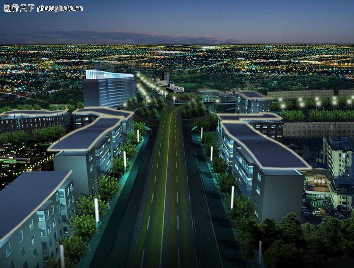 郑州城市景观大道概念性规划设计,国内建筑设计案例,郑州城市景观大道概念性规划设计0005