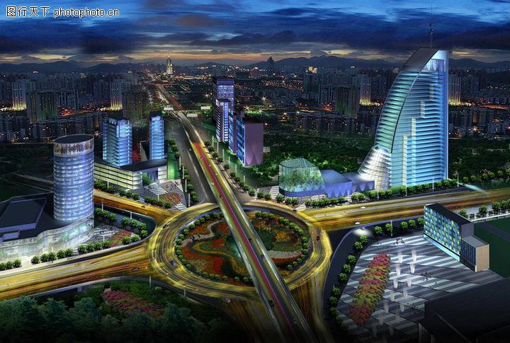 郑州城市景观大道概念性规划设计,国内建筑设计案例,郑州城市景观大道概念性规划设计0009