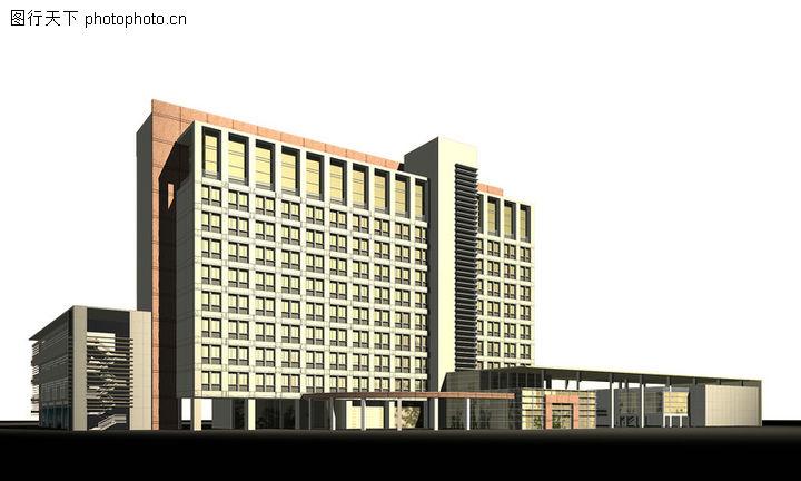 长沙市财政局机关大院及办公楼设计方案,国内建筑设计案例,长沙市财政