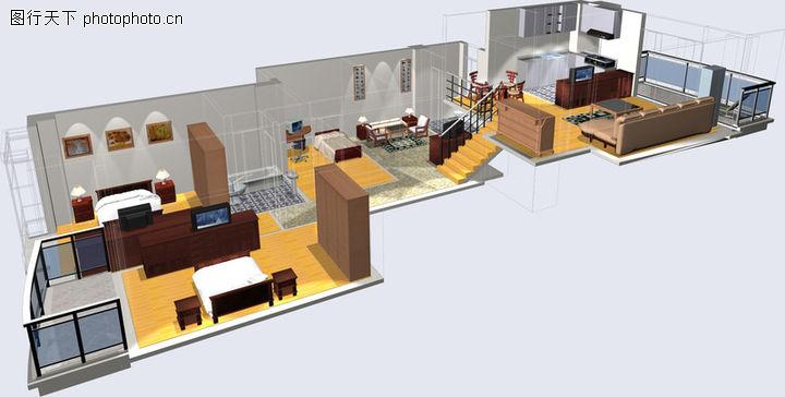 农村126平方米两层复式楼设计图