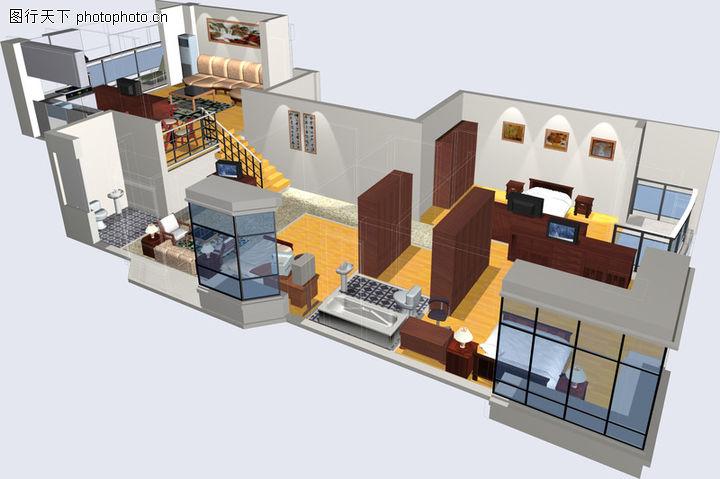鸿运星城,国内建筑设计案例,户型 富式楼 家具,鸿运星城0004