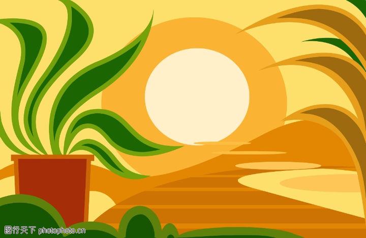 最佳设计背景PSD2,创意背景,影像 日初 盆栽 叶子 招摇,最佳设计背景PSD20003