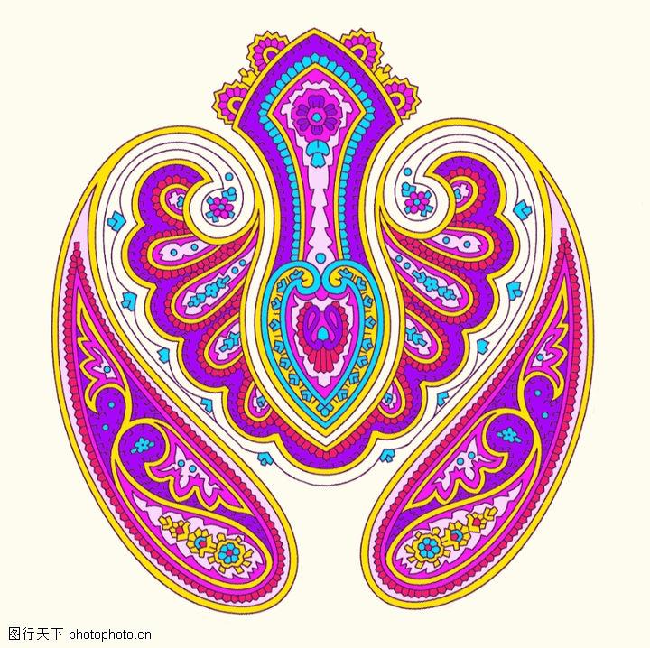 饰角素材,纹理边框,心脏 模似 形状,饰角素材0064
