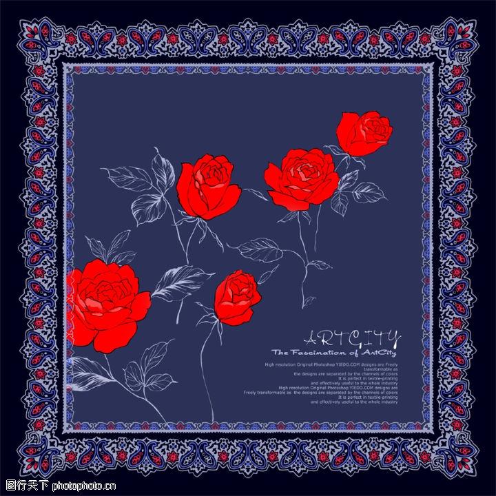 饰角素材,纹理边框,花框 方形 典雅,饰角素材0082