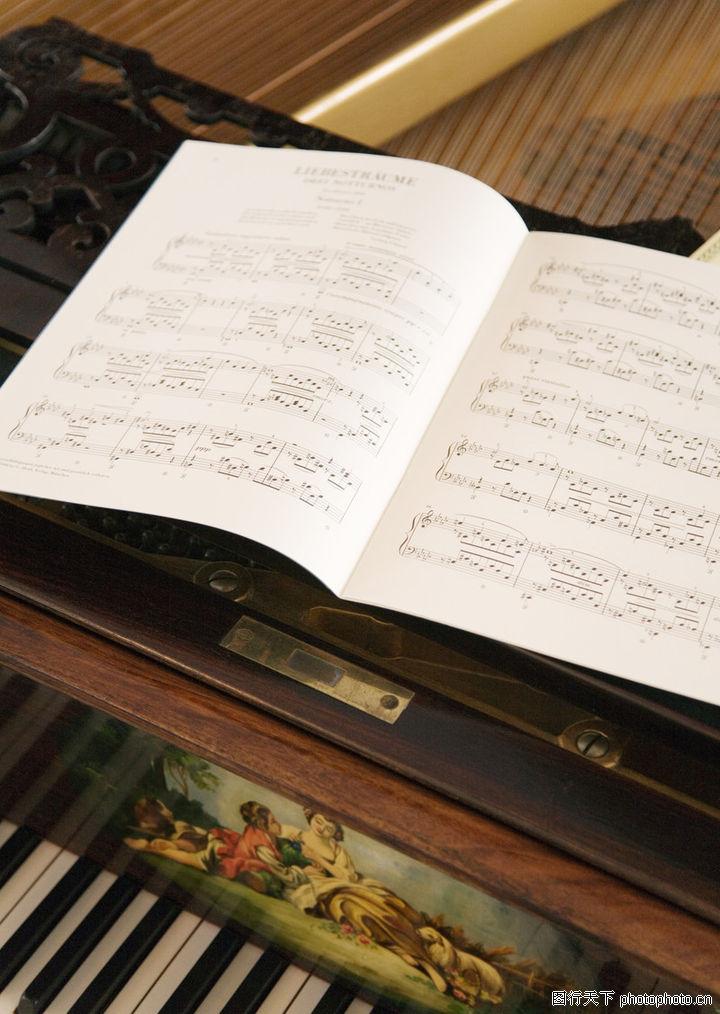 钢琴 乐谱 音谱