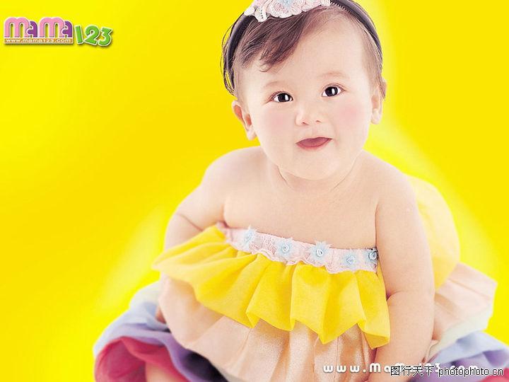 可爱的宝宝,亲情,肥胖 女孩 围裙,可爱的宝宝0013