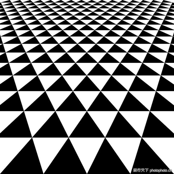 几何图形 时尚底纹 三角图案