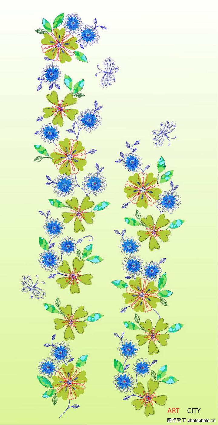 饰角素材,精品花纹边框模板,韩式设计花纹,饰角素材0165