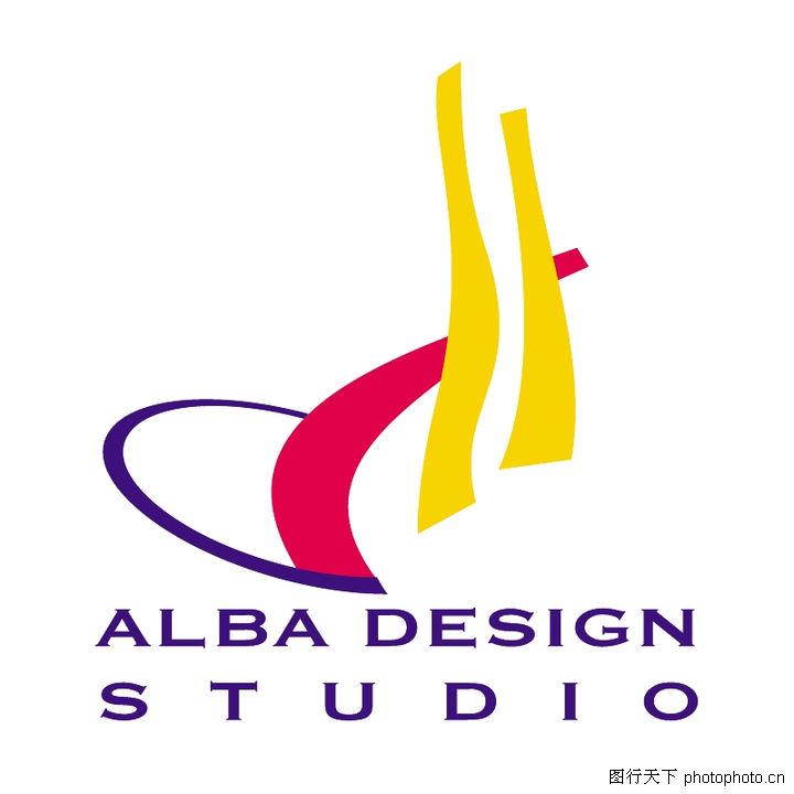 全球广告设计公司矢量标志0059